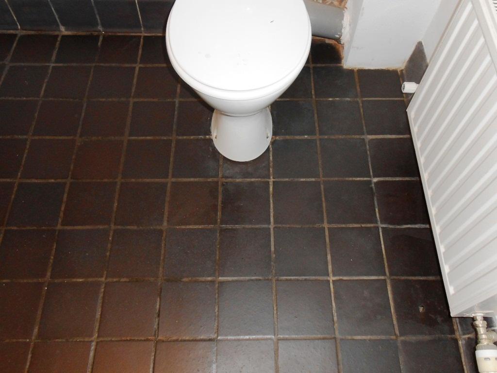 Black Quarry Tiles After