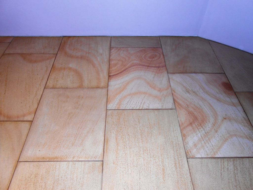 Milled Sandstone Floor Lancaster After