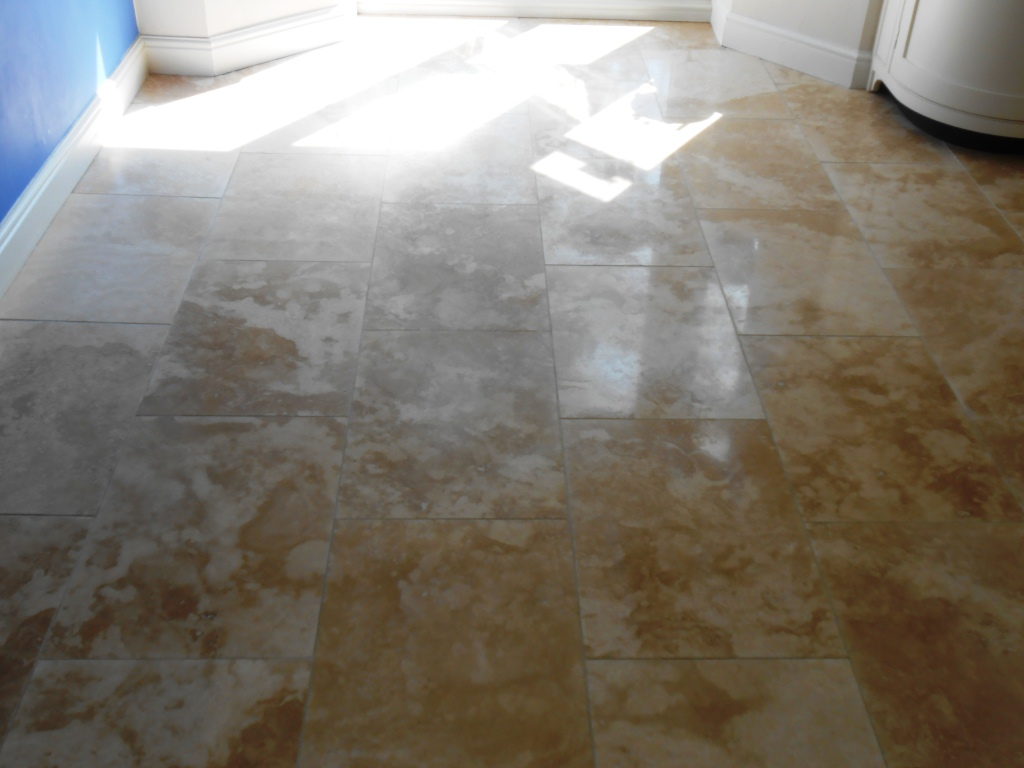 Honed Travertine Lancaster After
