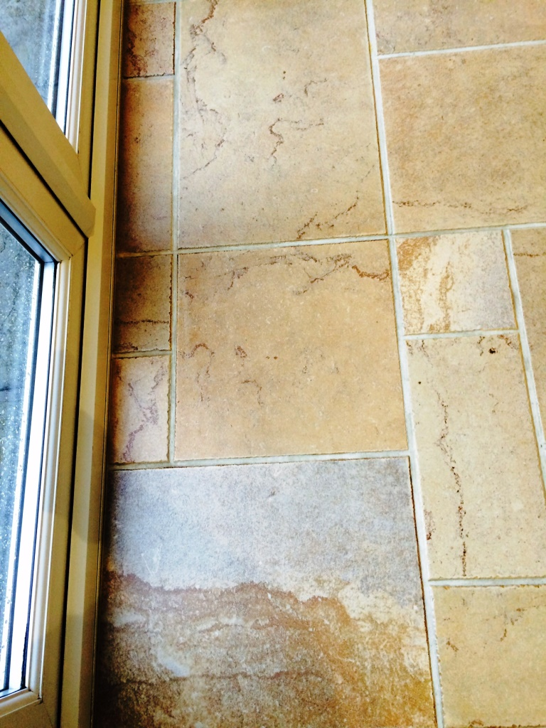 Grout Colouring Morecambe 1 Before