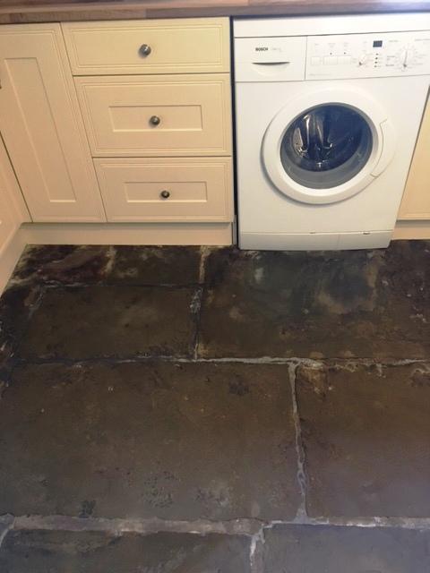 Flagstone Floor After Milling Haslingdon