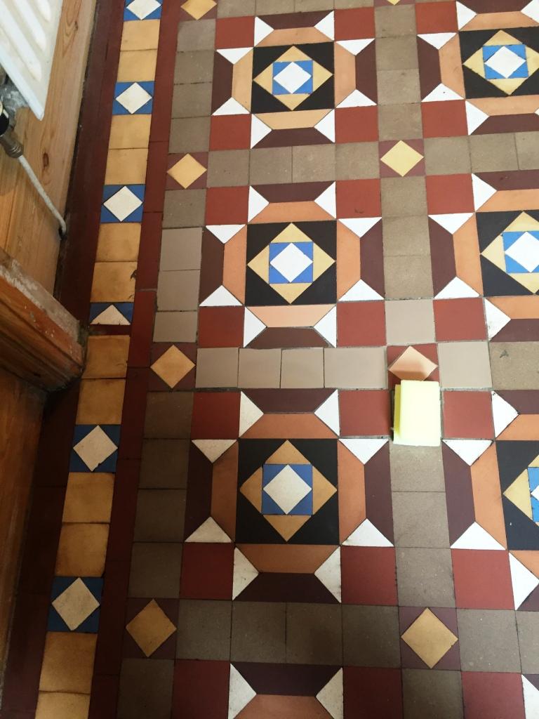 Geometric floor After Restoration Barrow in Furness