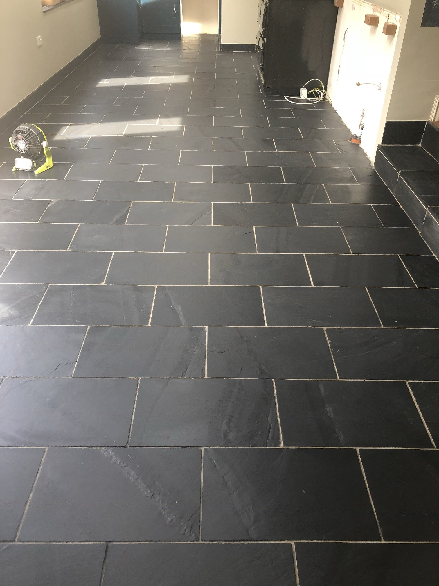 Slate Floor After Sealing High Bentham
