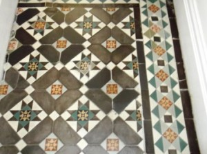 Victorian floor Restoration in Lancaster after Sealing