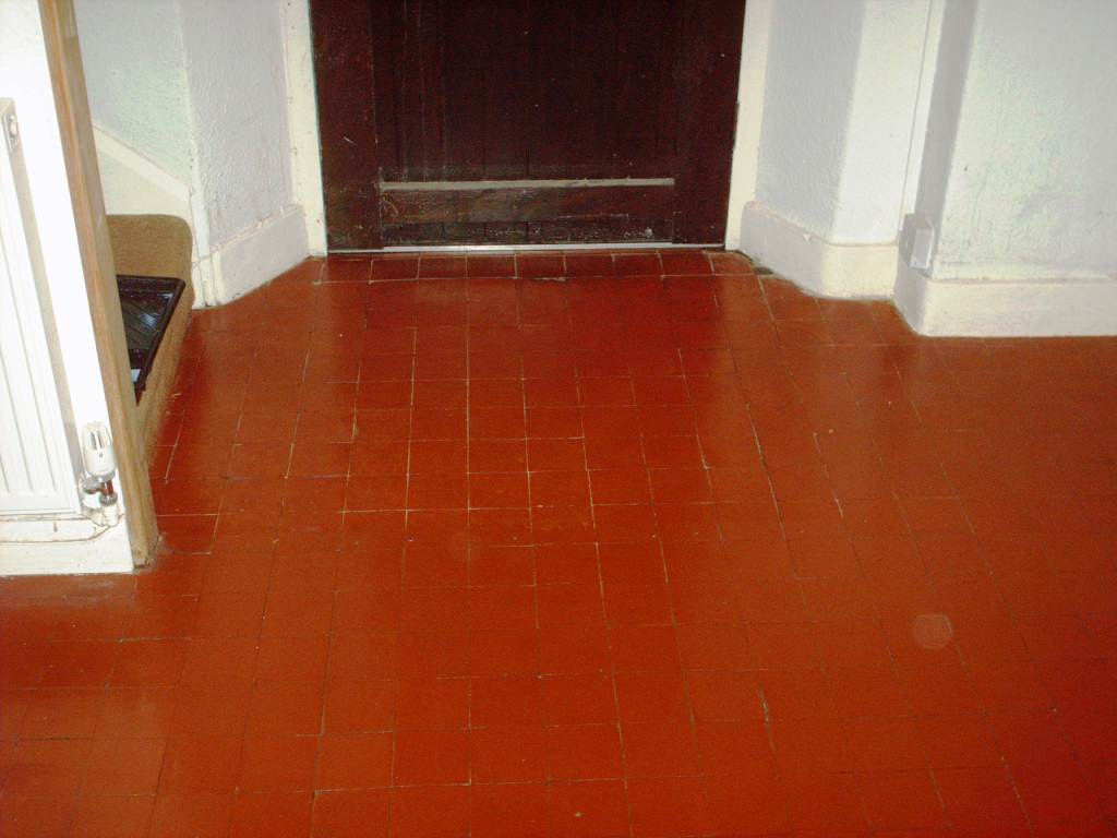 Quarry Floor Restored In Borwick Lancashire Tile Doctor Lancashire