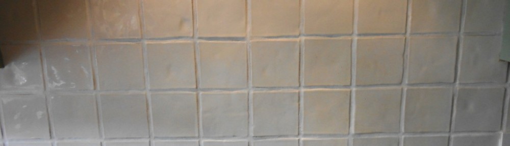 Grout colouring Preston Ceramic Wall Tile After