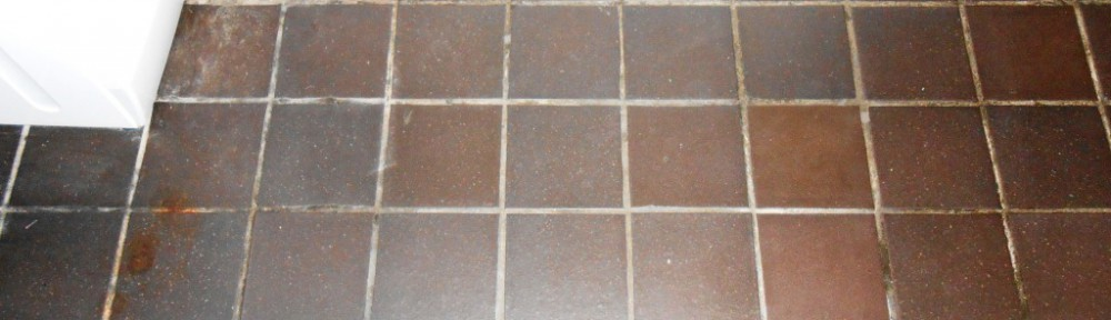 Dennis Ruabon Quarry Tiles cleaned and sealed in Low Bentham
