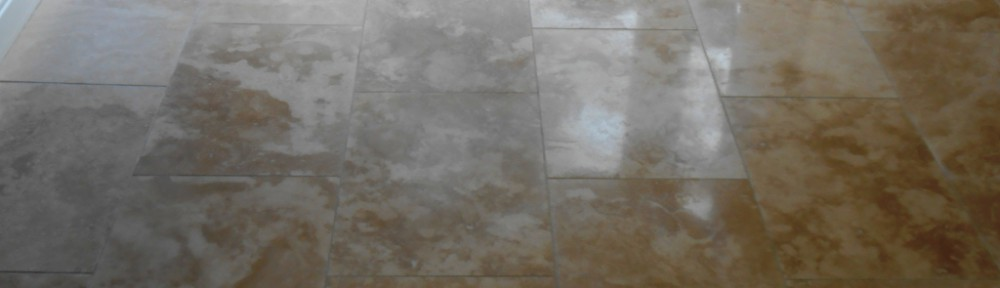 Resolving Honed Travertine Tiled Floor Installation Problems in Lancashire
