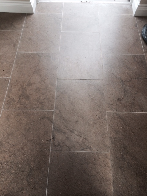 Milling Blue Lias Limestone Before