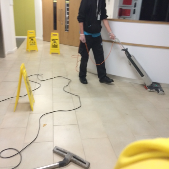 Applying Anti-Slip Treatment to Ceramic tiles in Lancaster During