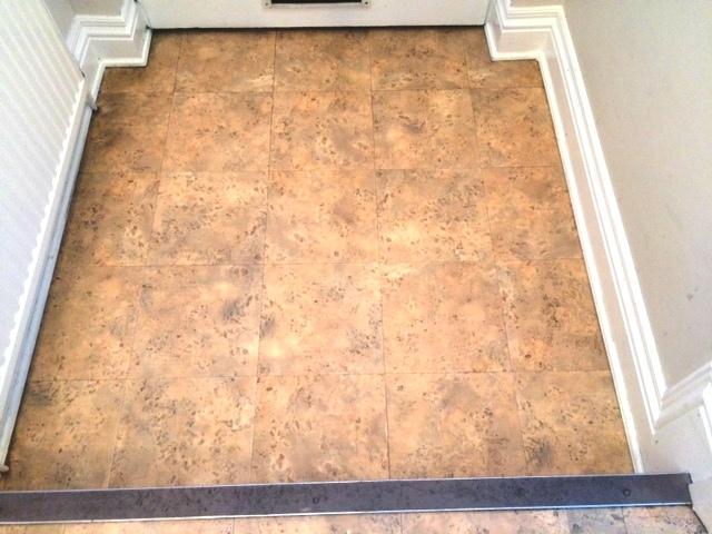 Amtico floor in manchester for corrination street actor for Removing amtico flooring
