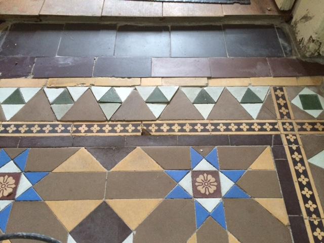 Victorian Tile Lippage Turton Tiles Relaid