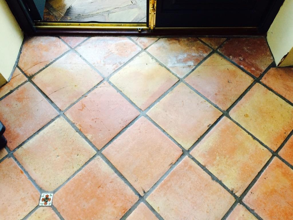 Tile cleaning stone cleaning and polishing tips for terracotta terracotta conservatory floor during cleaning garstang dailygadgetfo Image collections