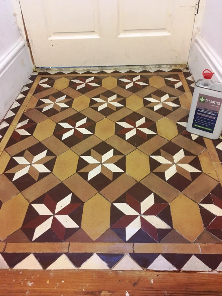 Victorian Floor Vestibule Lancaster After