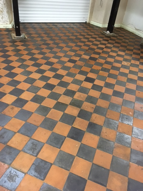 Deep Cleaning A Victorian Tiled Garage Floor Cleaning And