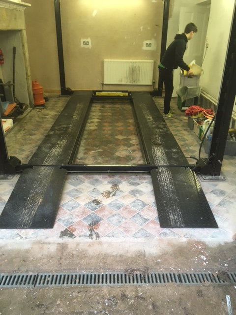 Victorian tiles tile doctor lancashire for Garage floor cleaning companies