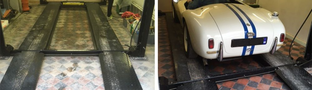 Renovating Old Victorian Floor Tiles at a Lancaster Garage