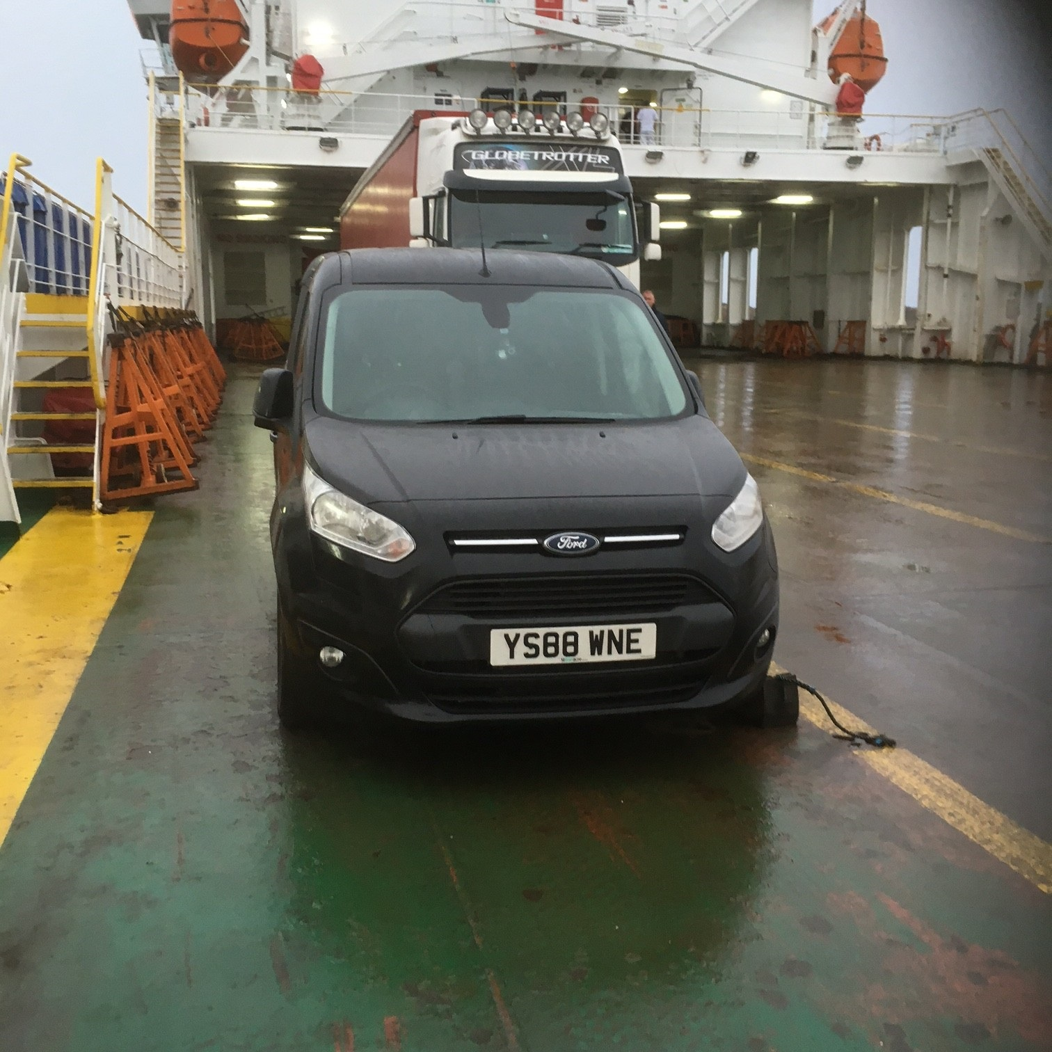 Ferry Crossing to Dublin