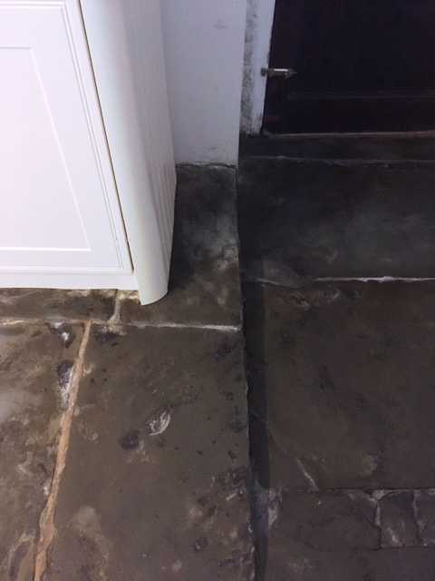 Flagstone Floor After Milling Haslingdon