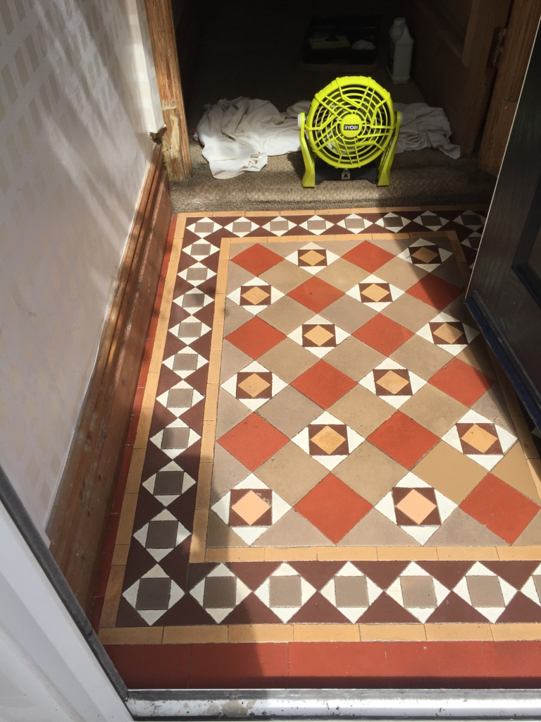 Edwardian tiles cleaning and maintenance advice for victorian edwardian tiled floor after cleaning in lytham dailygadgetfo Image collections