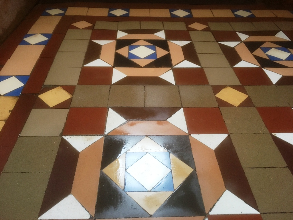 Geometric floor After Milling Barrow in Furness
