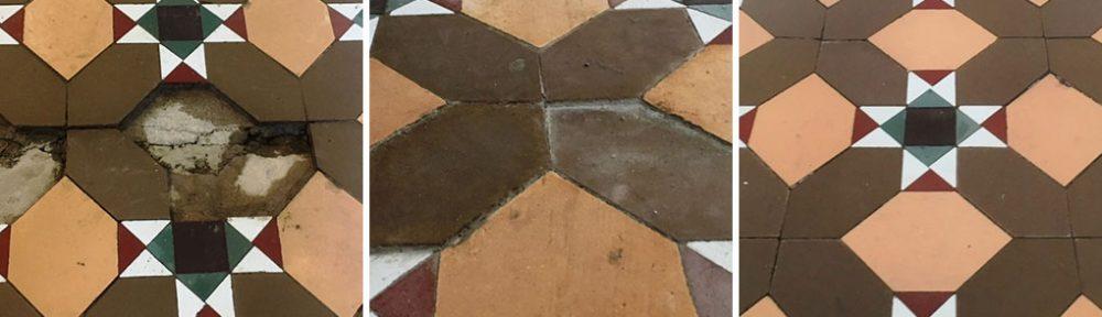 Victorian Floor Tile Restoration Lancaster