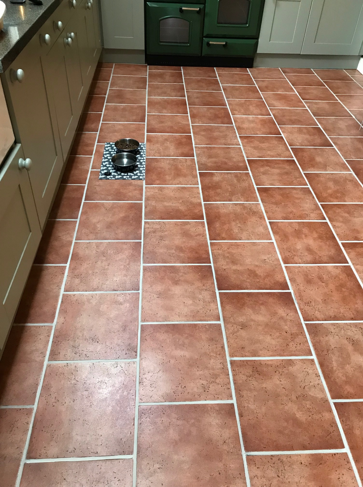 Restoring The Appearance Of A Ceramic Tiled Kitchen Floor In Ulverston Ceramic Tile Maintenance Tips
