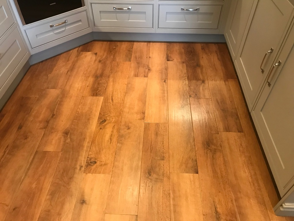 Amtico Floor Silverdale Before Cleaning