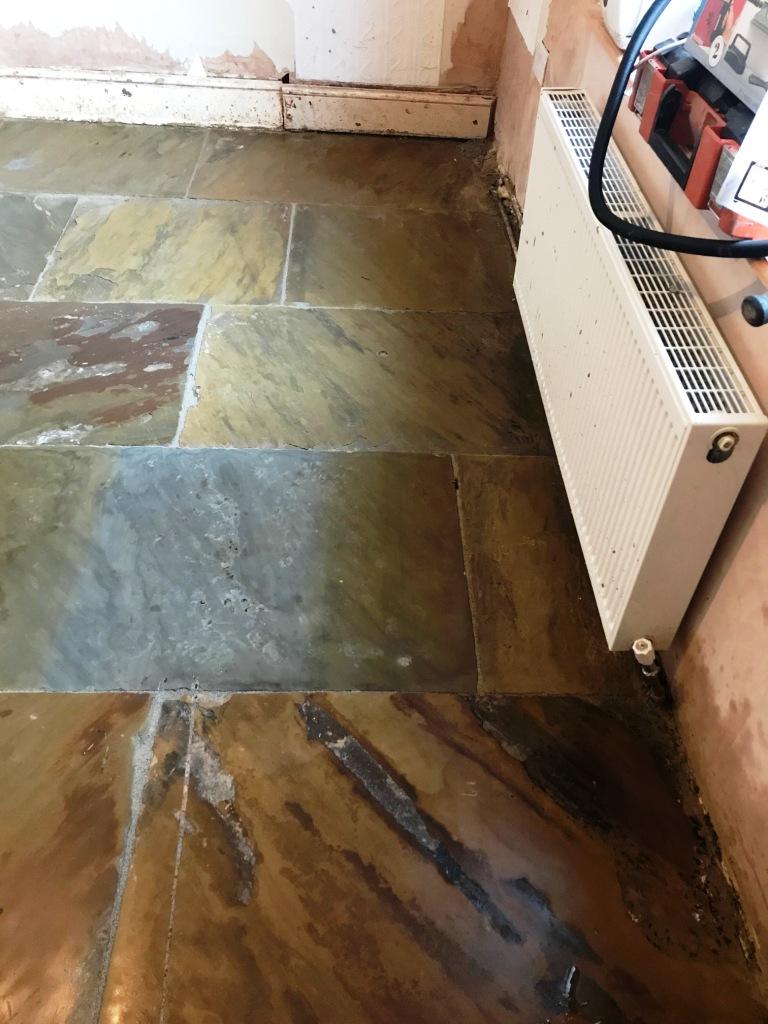 Flagstone Floor After Restoration Morecambe
