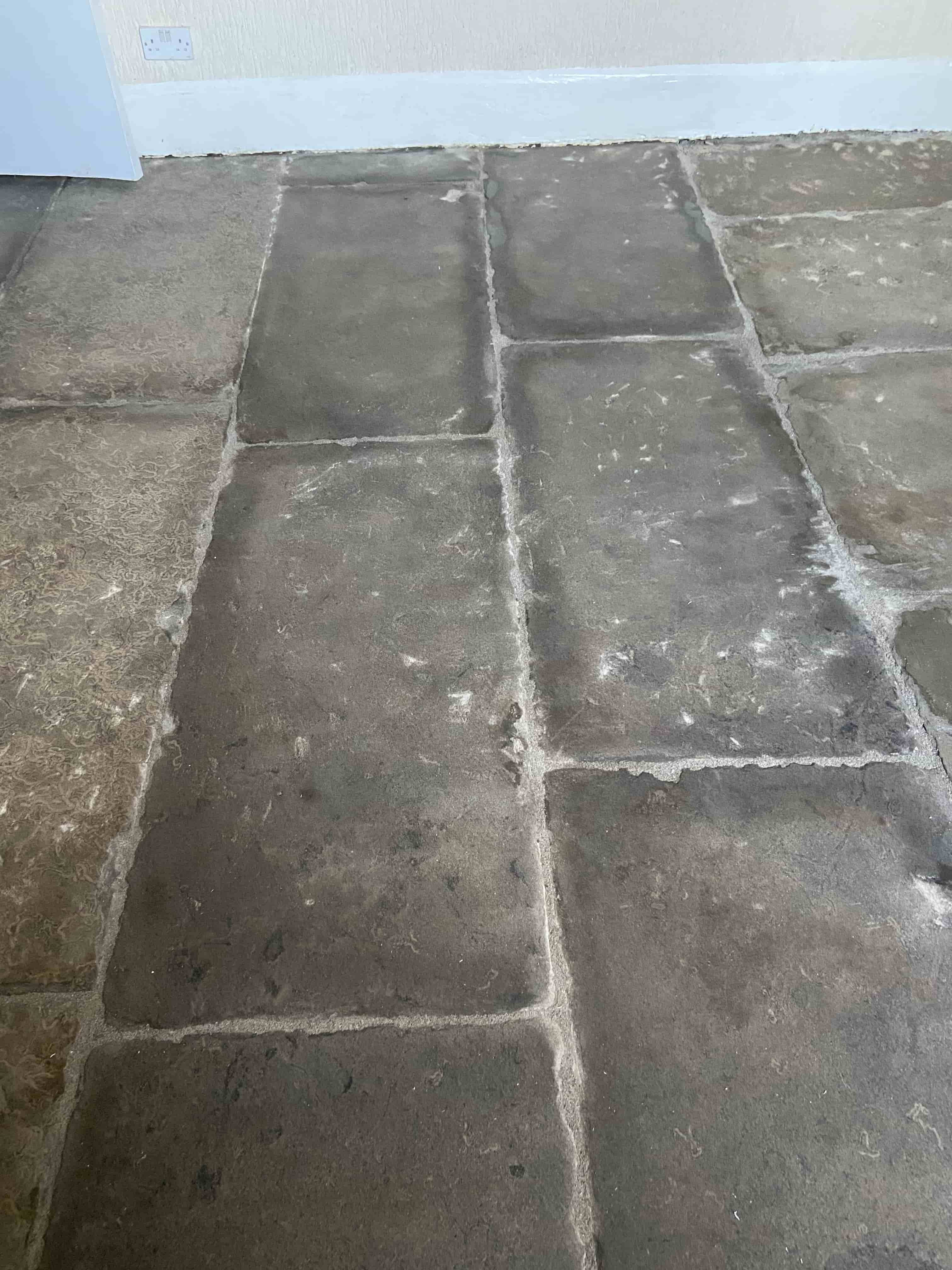 Flagstone Floor After Sealing Carnforth